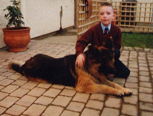 A1K9 Protection Dog with Child