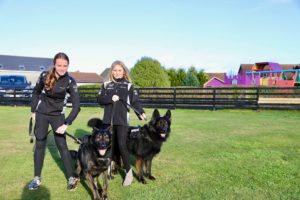 A1K9 Family Protection Dogs With Customers