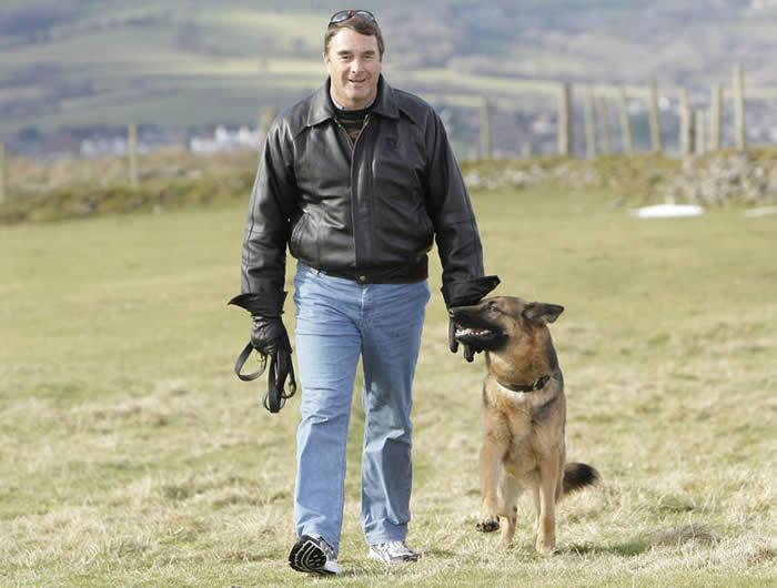 Nigel Manselland A1K9 Protection Dog Geisha