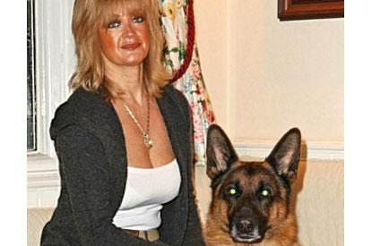 A1K9 Personal Protection Dog With Woman